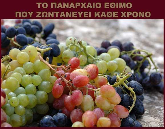 Απαρχές Μεταμόρφωσης, ευλογία σταφυλιών, Νίκος Ψιλάκης.