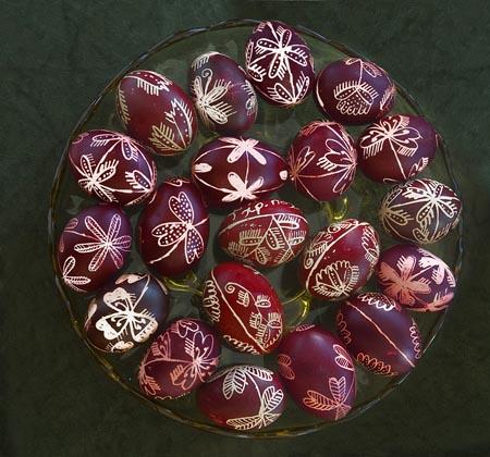 πάσχα περδίκες Γρεβενών κόκκινα αυγά Easter red eggs Grevena